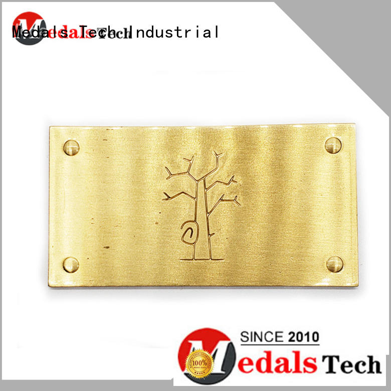 Medals Tech nameplate silver name plate design for kids