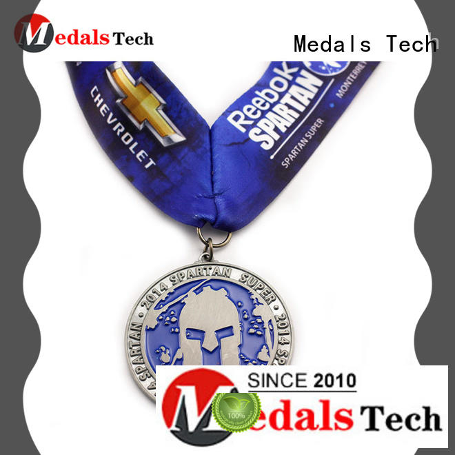 Medals Tech spinning cool running medals personalized for add on sale