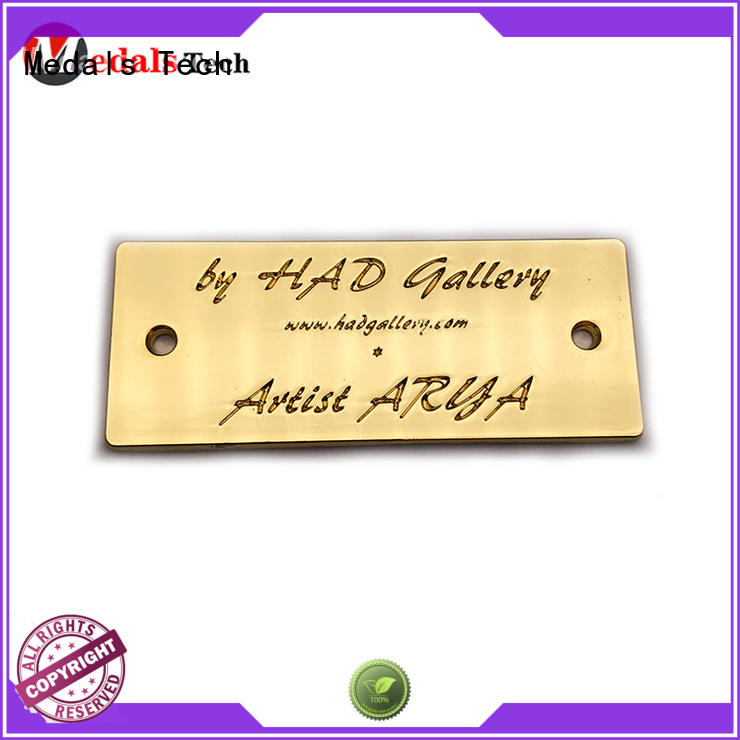 Medals Tech plating steel name plates inquire now for add on sale