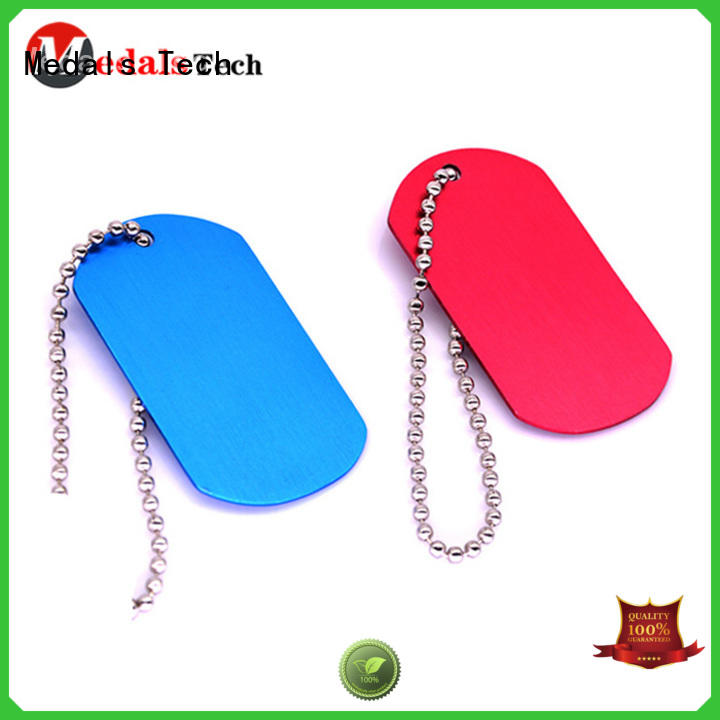 filled Dog tag souvenir for adults Medals Tech