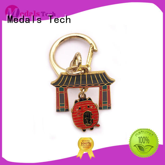 Medals Tech cool keychains for guys from China for promotion
