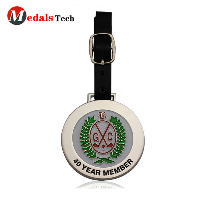 Medals Tech shinny personalized golf bag tags series for man-3