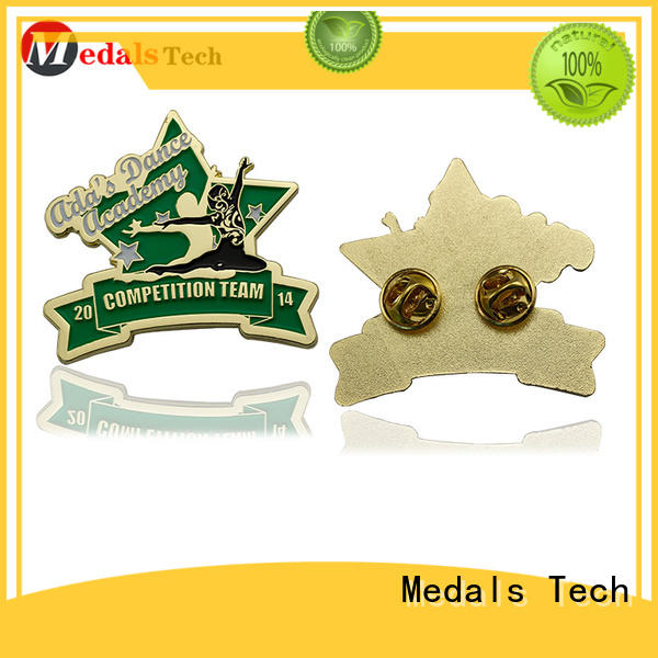 Medals Tech popular custom lapel pins cheap with good price for add on sale