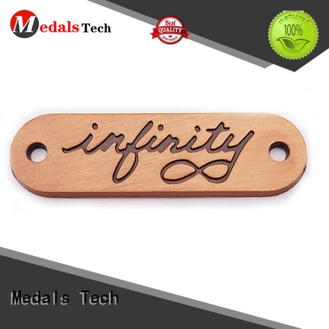 Medals Tech business metal name plates with good price for woman