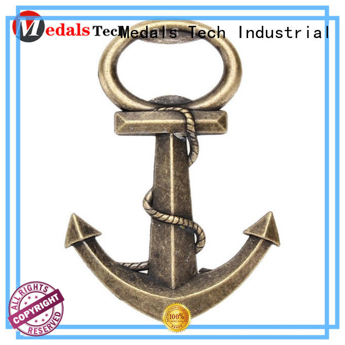 Low price anchor shape wedding antique plated vintage bottle opener