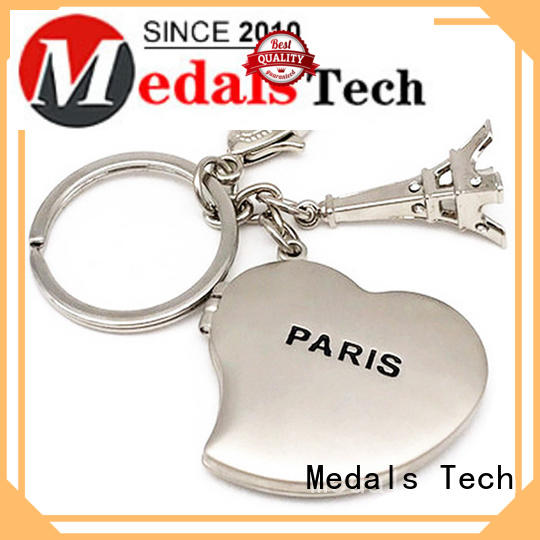 Medals Tech plated novelty keyrings basketball for add on sale