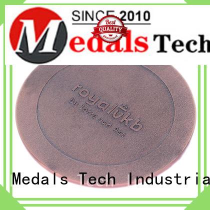 Promotional metal antique bronze embossed logo challenge coins for souvenir