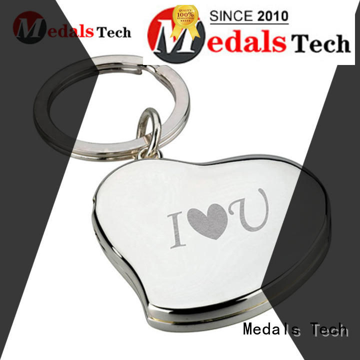plated leather keychain metal customized for adults