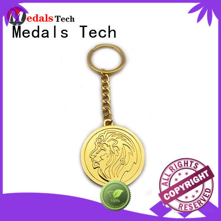 metal keychain supplies copper customized for woman