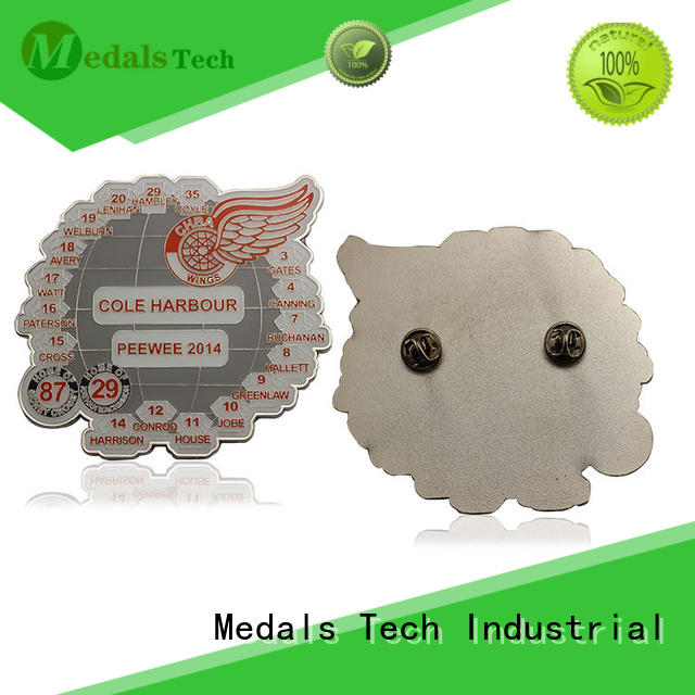 Medals Tech quality custom lapel pins with good price for adults