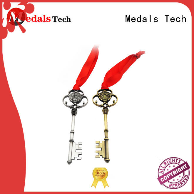 copper cool keychains for guys supplier for man Medals Tech