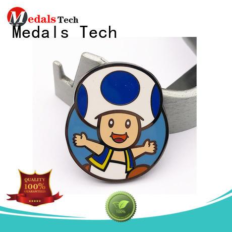 Medals Tech alloy mens lapel pin design for woman