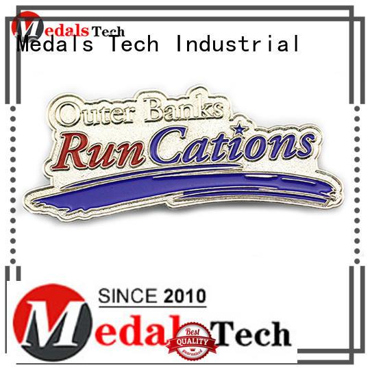 Medals Tech effect custom lapel pins cheap factory for man