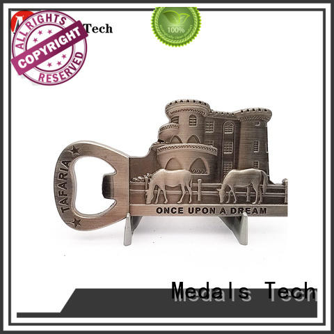 Medals Tech beer opener from China for commercial