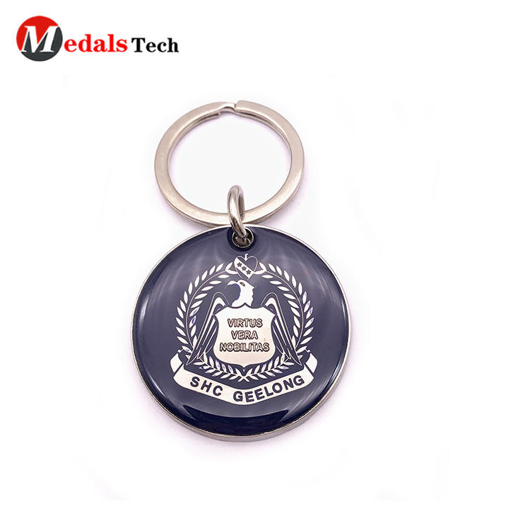 Medals Tech metal name keychains series for souvenir-1