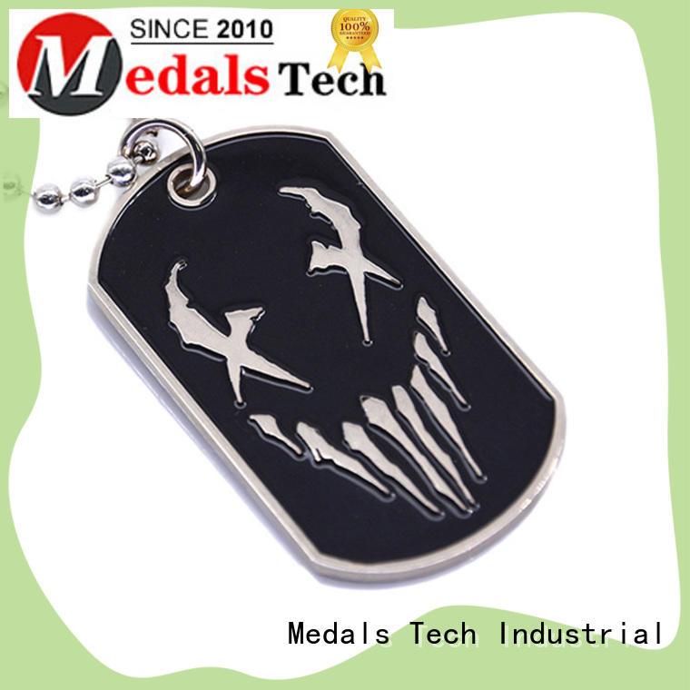 plating dog tag pendant souvenir customized for man