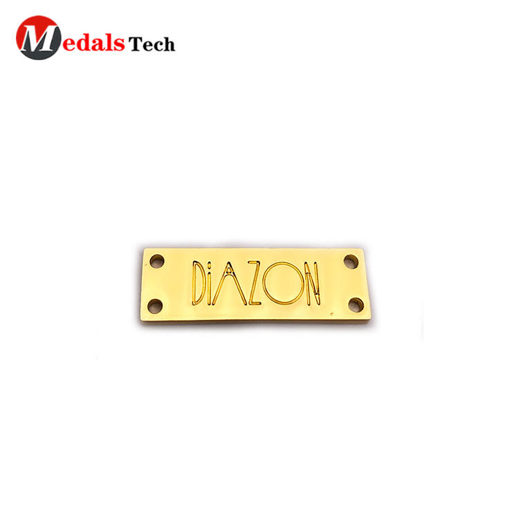 Medals Tech coating custom name plates factory for woman-3