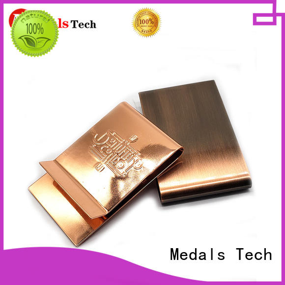 Medals Tech smooth Money clip for add on sale