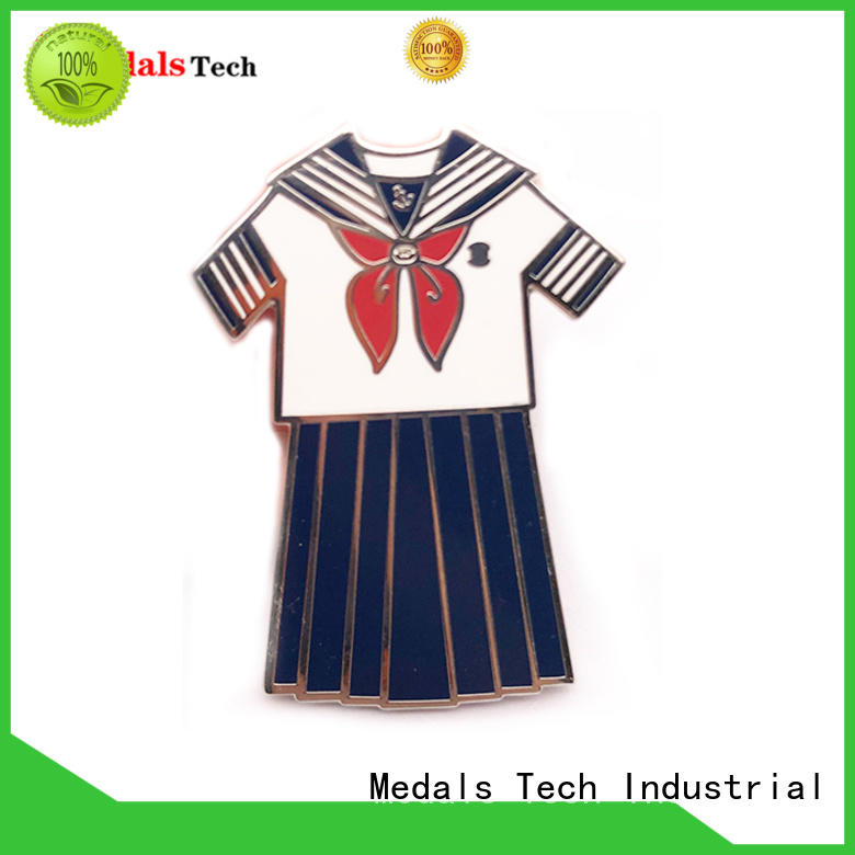 Medals Tech double custom lapel pins with good price for man