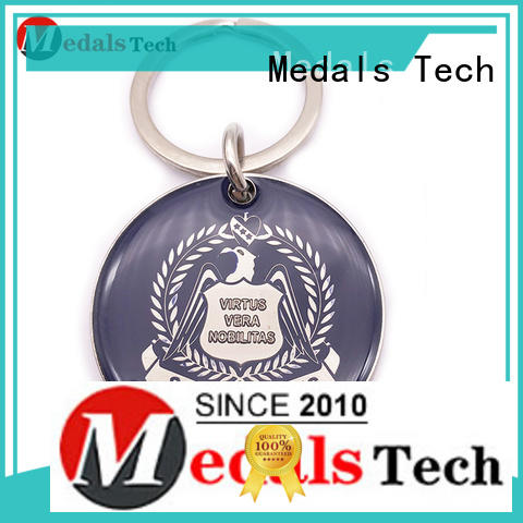 Medals Tech alloy custom logo keychains manufacturer for promotion