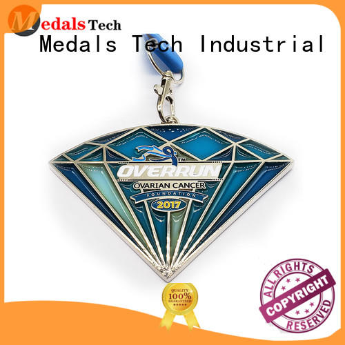 Medals Tech round custom marathon medals factory price for commercial