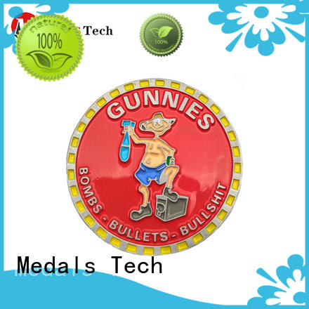 shinny custom challenge coins silver for collection Medals Tech