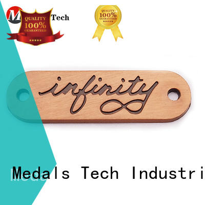 Medals Tech steel metal name plates design for woman