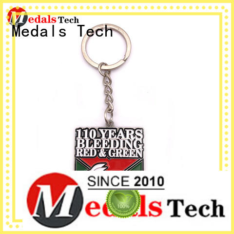 Medals Tech gold novelty keyrings customized for souvenir