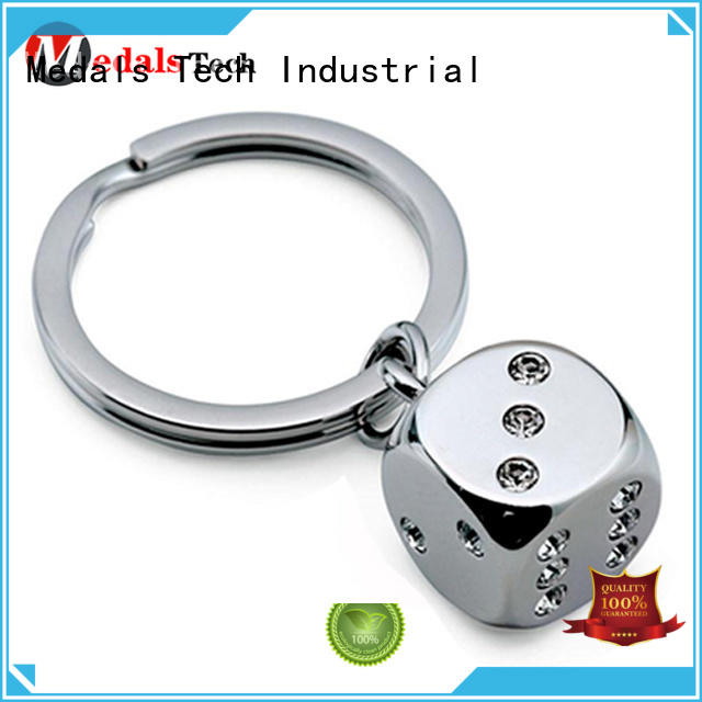 Medals Tech clock metal key ring directly sale for souvenir