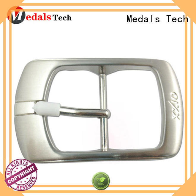 Medals Tech embossed cool belt buckles wholesale for adults