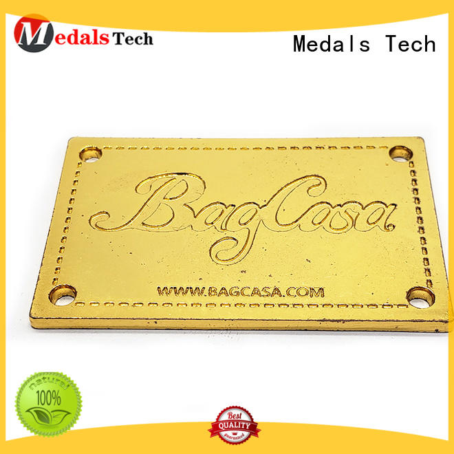 Medals Tech excellent silver name plate with good price for man