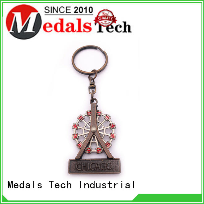 Medals Tech metal keychains customized for adults