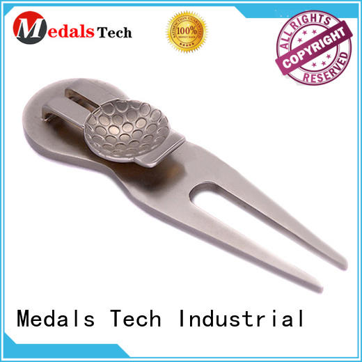 Medals Tech marker golf divot repair tool with good price for man