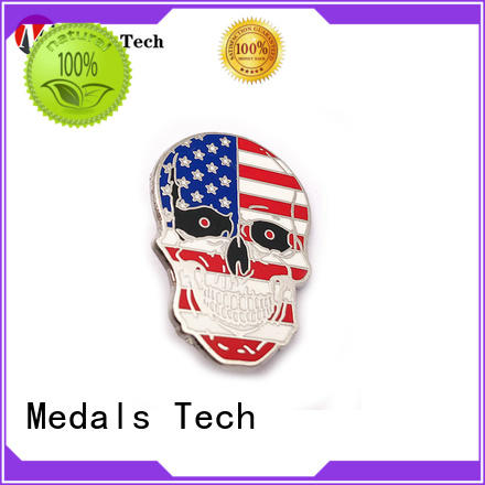 Medals Tech round mens lapel pin inquire now for woman