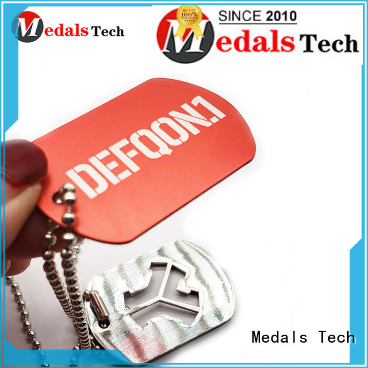 Medals Tech shinny Dog tag from China for add on sale
