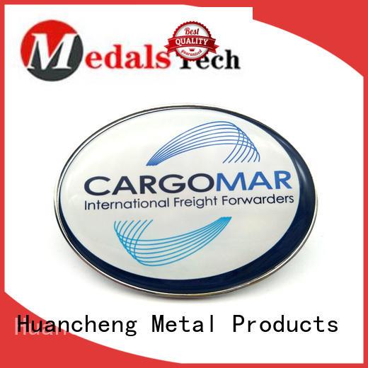 Huancheng Brand good quality custom name plates logo factory