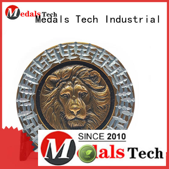 Medals Tech challenge coin design personalized for add on sale
