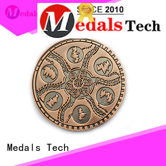 Medals Tech coin unit challenge coins wholesale for add on sale