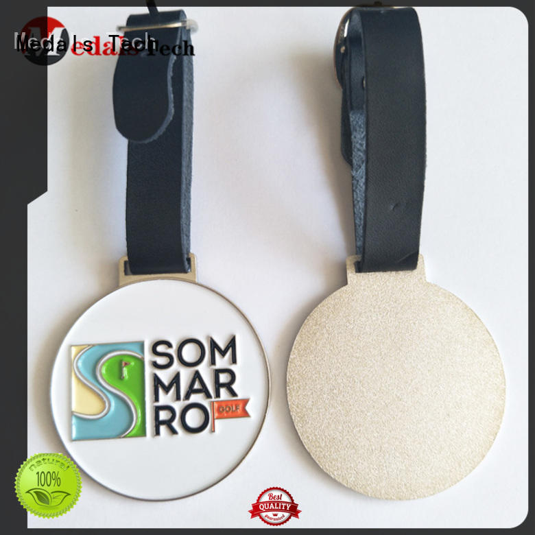 Medals Tech enamel disc golf bag tags directly sale for adults