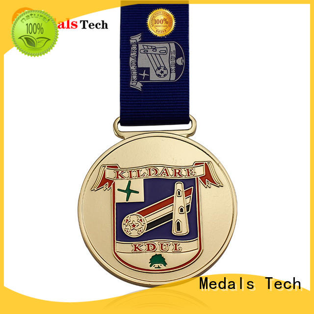Medals Tech plated marathon medal personalized for add on sale