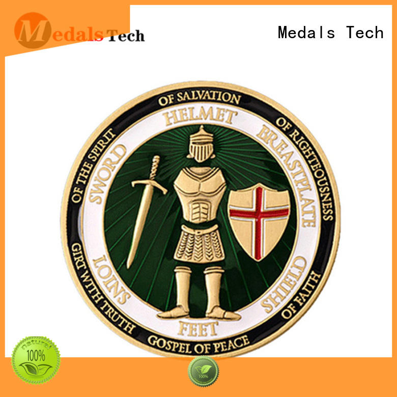 High quality custom metal military gold plating challenge coins