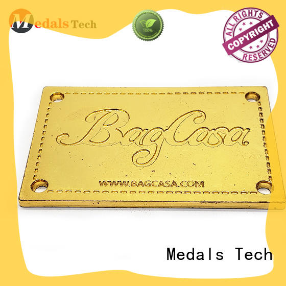 Medals Tech custom name plates factory for add on sale
