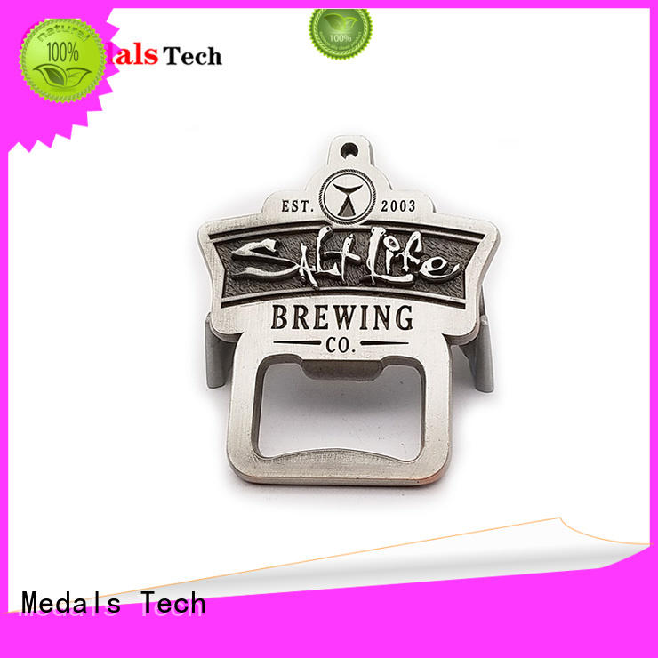 Medals Tech engraved customized bottle opener manufacturer for household