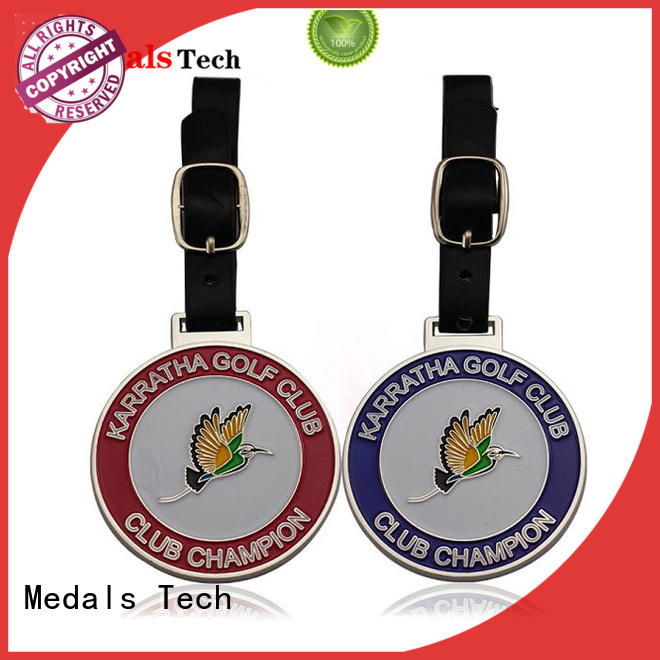 shinny disc golf bag tags design from China for woman