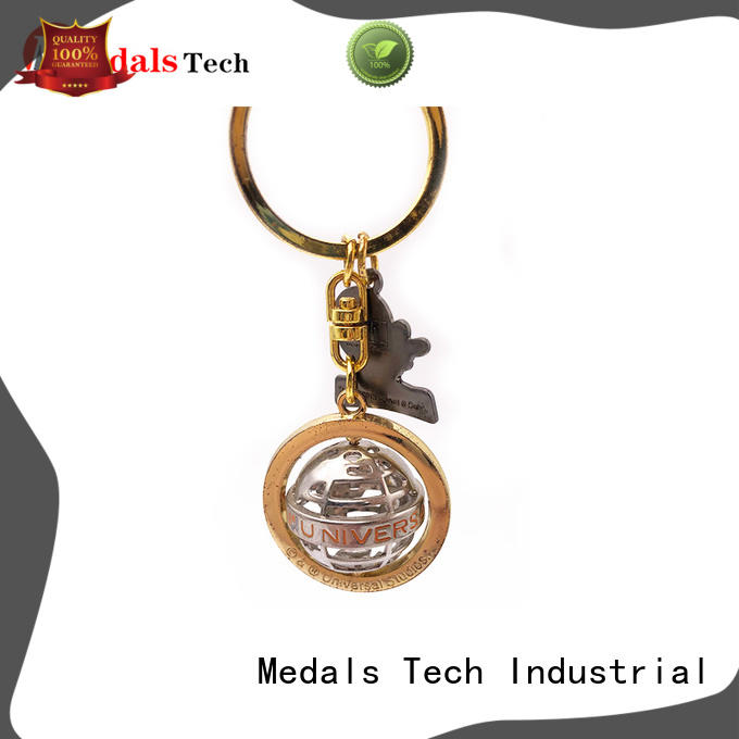 Medals Tech metal metal key ring from China for souvenir