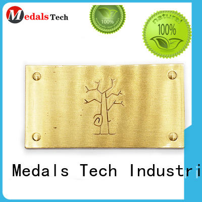 printed decorative name plate gold design for kids