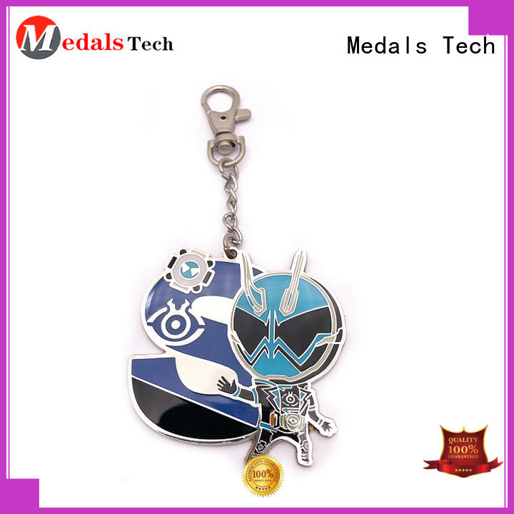 Medals Tech cart metal keychains series for woman