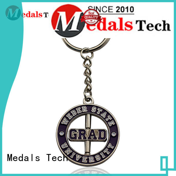 Medals Tech cart cool keychains for guys from China for commercial