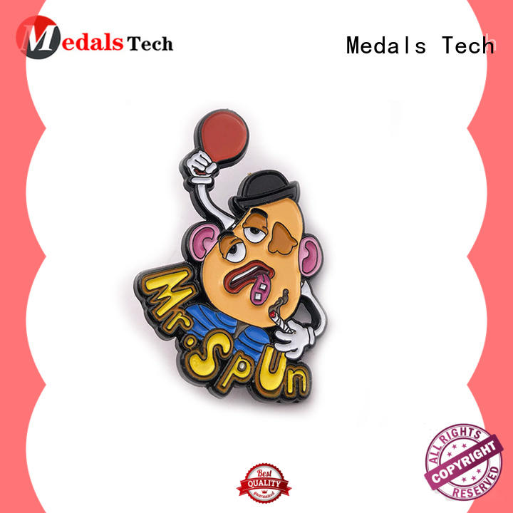 Medals Tech soft suit lapel pins factory for add on sale