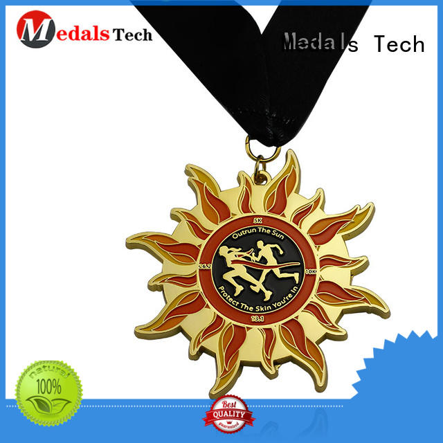 Medals Tech running custom medals factory price for promotion